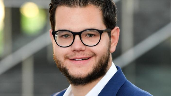 Portrait Dominik Dimmendaal